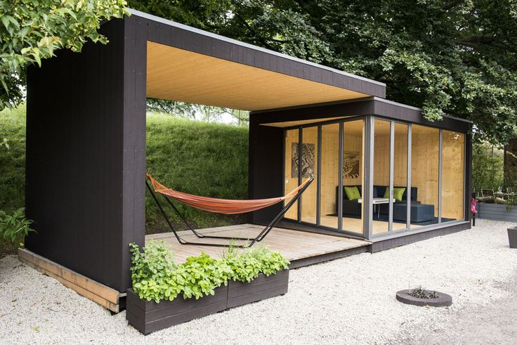 Swedish company Kenjo is back with a new prefab called Friluftsstugan, or Outdoor Cottage. | prefabricated panels/kit of parts