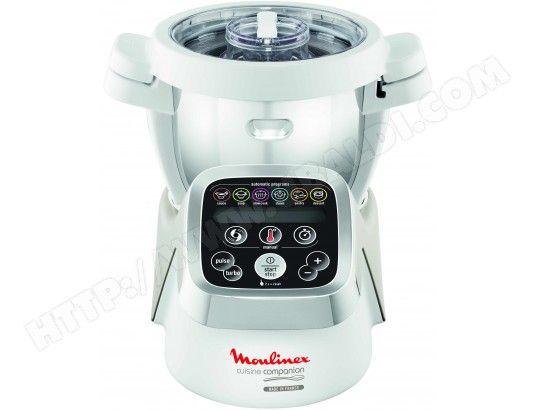 Le robot culinaire chauffant COMPANION HF800A10 de MOULINEX, vous accompagne au quotidien dans la préparation de vos repas complets, en ...
