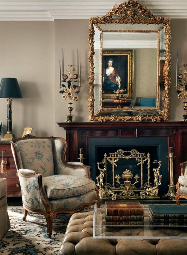 Joie de vivre -elegant french livingrooms.