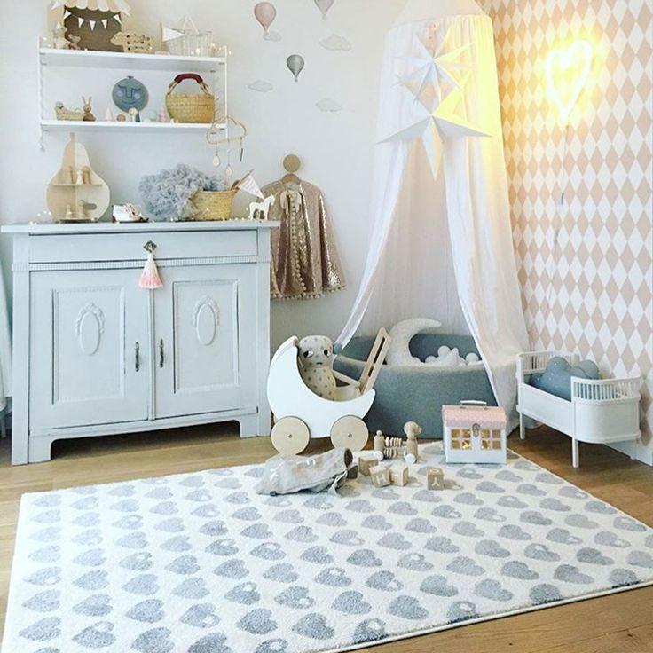 Die besten 25+ Kinderteppich grau Ideen auf Pinterest - teppich babyzimmer beige