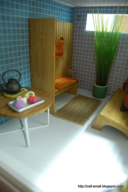Lundby Stockholm Modern Dollhouse | Lundby Stockholm Sauna | Flickr - Photo Sharing!