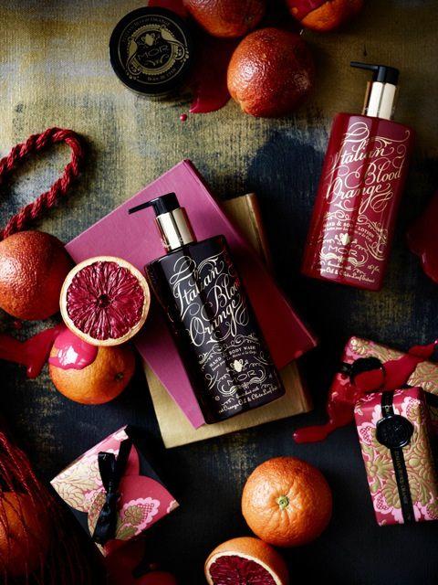 Not food but nice product shot!!  MOR Emporium Italian Blood Orange Collection