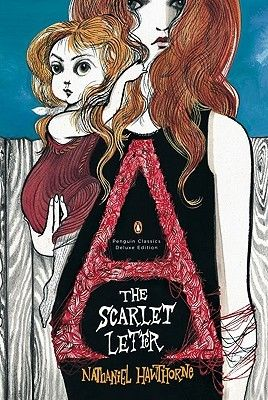 cool and edgy book cover for the scarlet letter