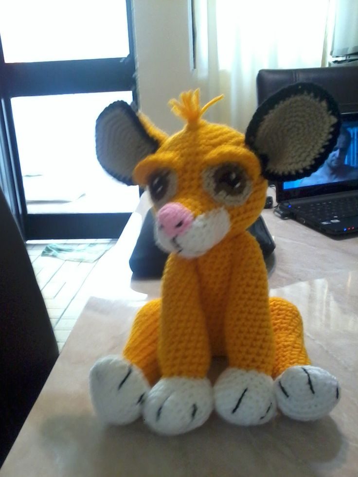 9 best Patrones Amigurumi León images on Pinterest | Patrones ...