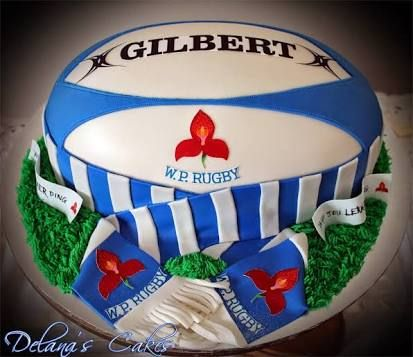 Cake Decorations Football Team : Best 25+ Rugby cake ideas on Pinterest Football cake ...