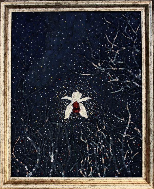 *The Valiant* New mosaic by Elena Prosperi, M.us.E mosaico, Italy
