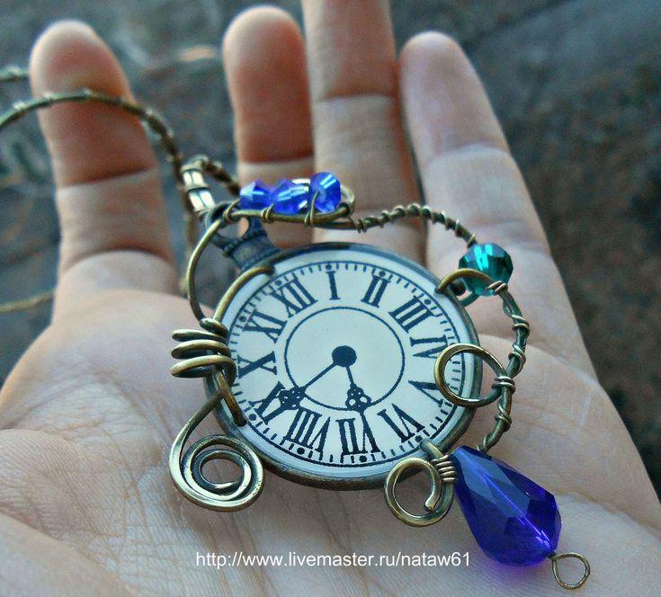 Купить Браслет латунный в виде стрелы Часодеи (стрела,часы, сказка, фентези) - стрела