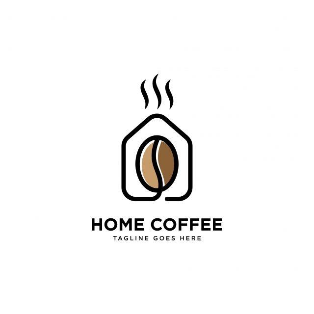 الأسرة القهوة شعار خطوط بسيطة قالب ناقلات التوضيح Coffee Shop Logo Shop Logo Retail Logos