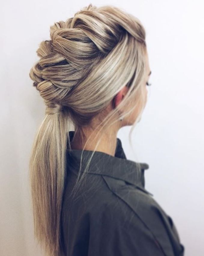 Fonott Frizurak Frizurakepek Hair Styles Long Hair Styles Braided Hairstyles