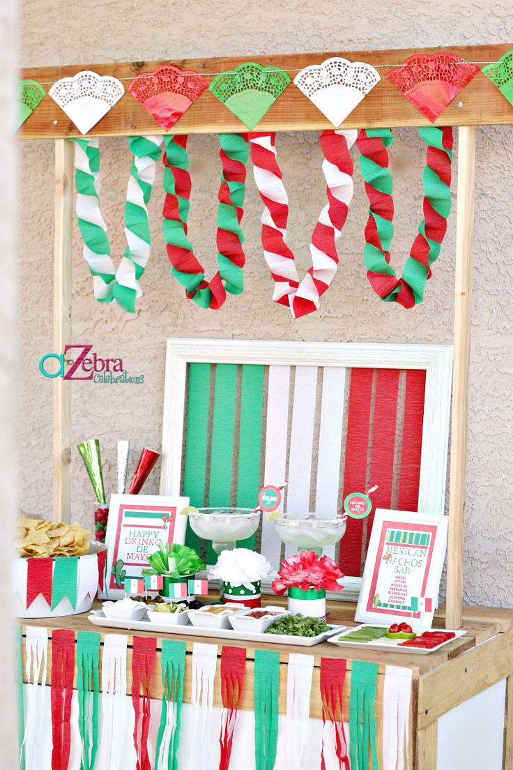 Cinco De Mayo Party on a Budget via @A to Zebra Celebrations |  Fiesta Party