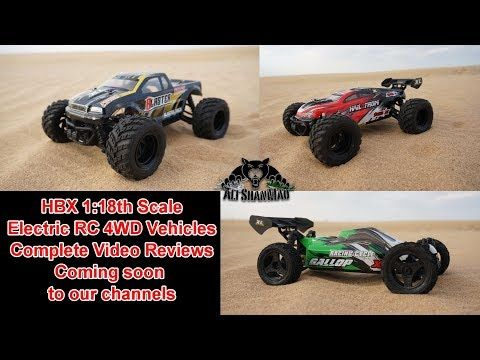 Fun Family RC Racing with HBX Mini Electric 4WD RC Vehicles
