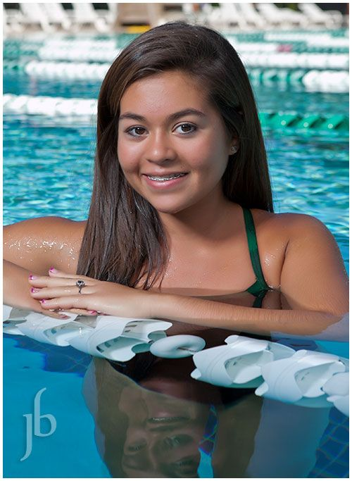 Sickles swim team individual portrait. I got in trouble for putting the kids in the pool for the shots - but I can't imagine doing swimming pictures of kids when they are dry and out of the water!
