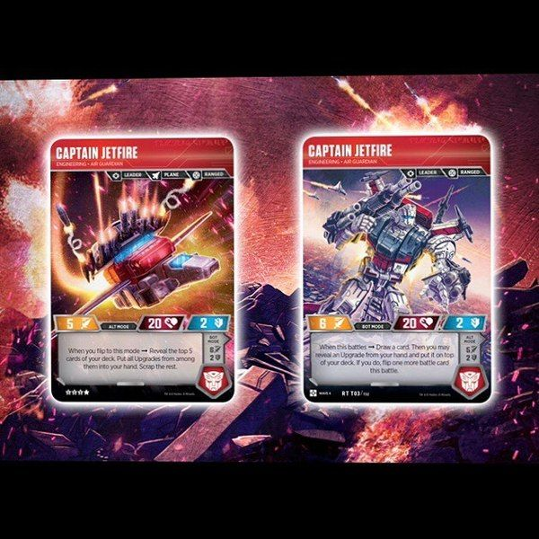 Jetfire Omega Supreme War For Cybertron Siege Ii Transformers Trading Cards Transformers Trading Cards War
