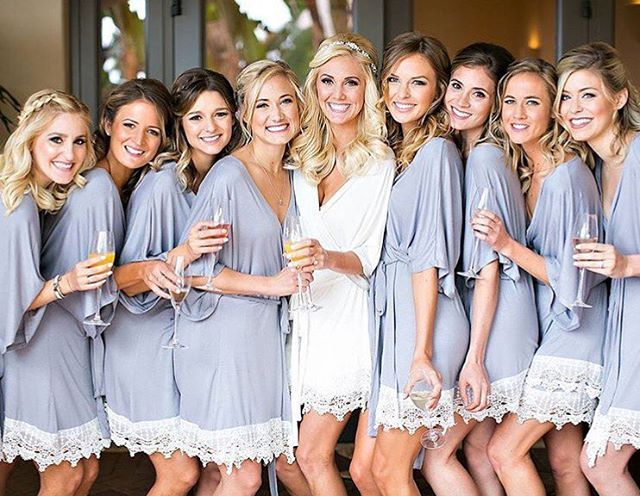 Best 25+ Bridesmaid robes ideas on Pinterest | Bridal ...