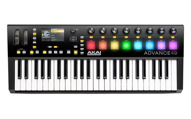 Buy Akai Advance 49 Key Controller Keyboard online from GAK.co.uk. Unbeatable prices and next day delivery from the UK's no1 instrument store. Order Today.