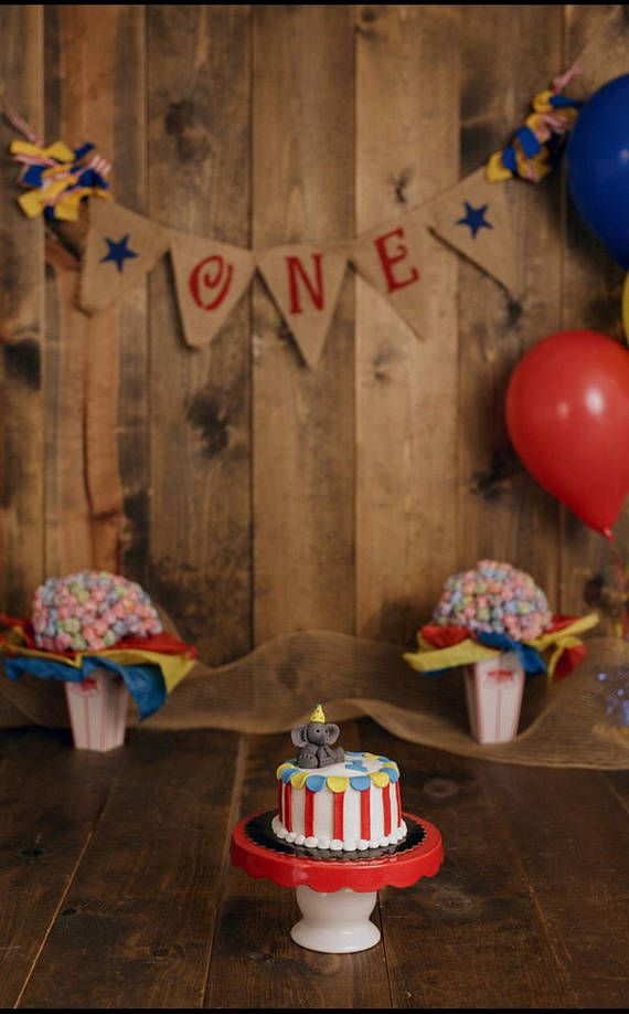 Circus One Birthday Banner Circus First Birthday Circus 1st Birthdays Circus Birthday Party Decorations