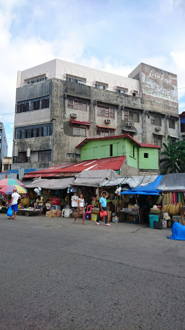 Harbour market Tacloban