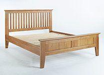 Sherwood Oak King Size Bed