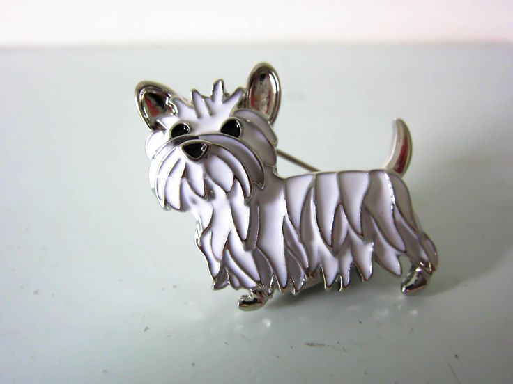 Westie dog brooch, west highland terrier pin, Dog pin, Dog lover gift, Birthday gift, Terrier dog brooch , West highland terrier dog brooch. by thevintagemagpie01 on Etsy