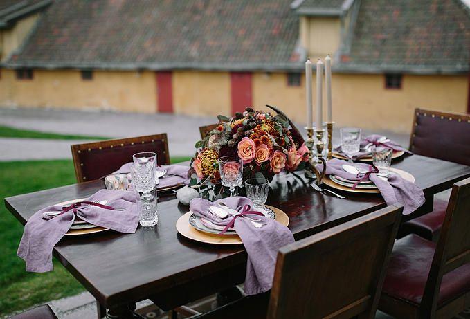 Norwegian Wedding Magazine | Scandinavian Style Workshop By Kristianne Marøy #dekkmittbord #bryllup #borddekking #vintage