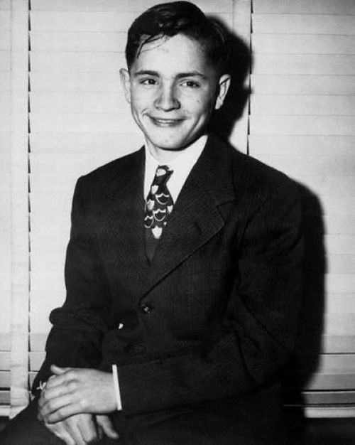 "Charles Manson - born in Cincinnati, OH on 11/12/34. Even monsters were once ""normal"" kids ..."