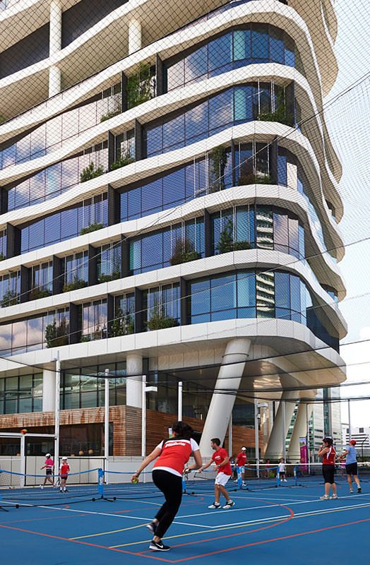 <p>The Medibank workplace goes beyond conventional Activity Based Working to create Health Based Working – an approach that places the mental and physical health of people at its heart</p>