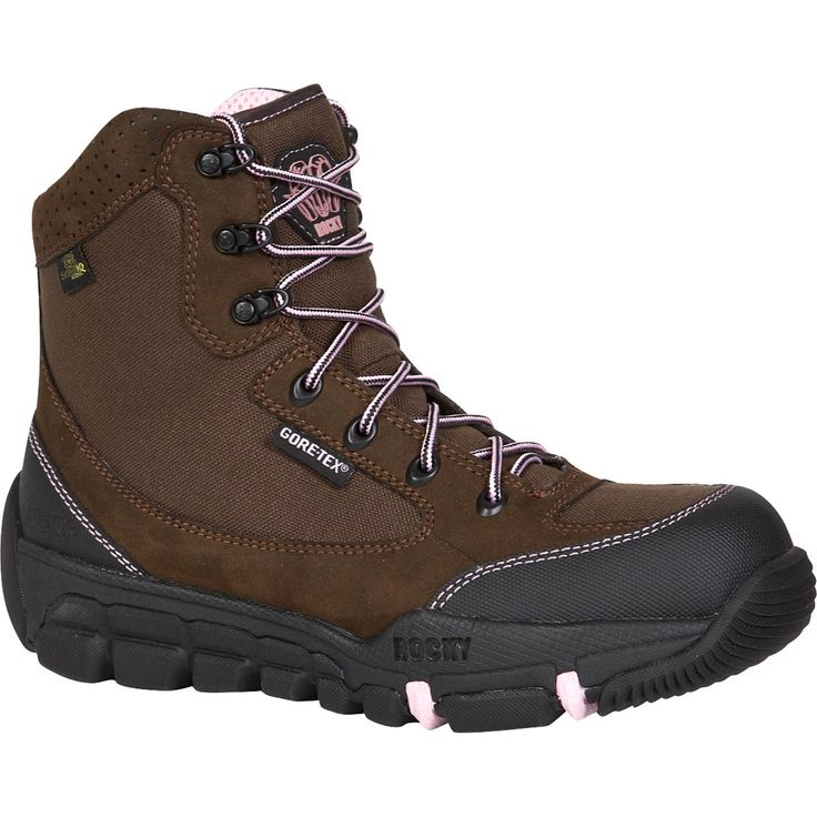 womens pink insulated tex 174 athletic mobility boots