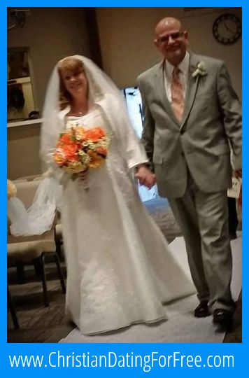 Christian Dating For Free Newlyweds, Melodee & Ken - Ken and I are sending  one