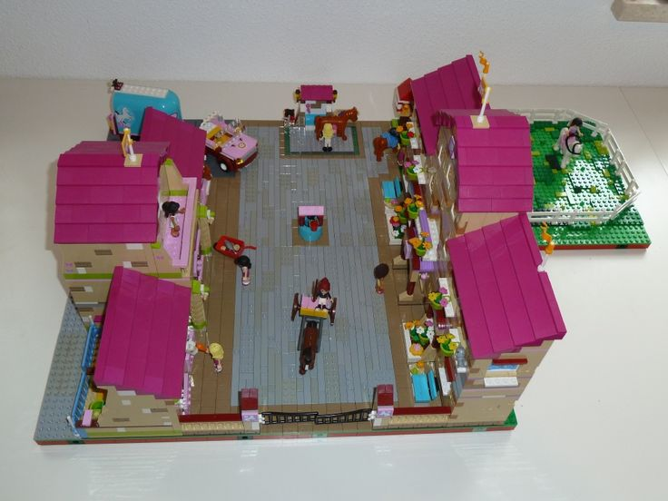 Lego Friends - Summer Riding Camp MOC