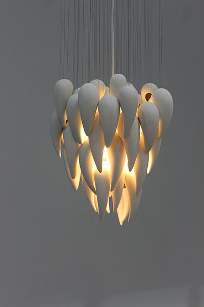 Luminessie Pendant Light by Kristina Menikova at 3D NOW - Central Institute of Technology Product Design students exhibition