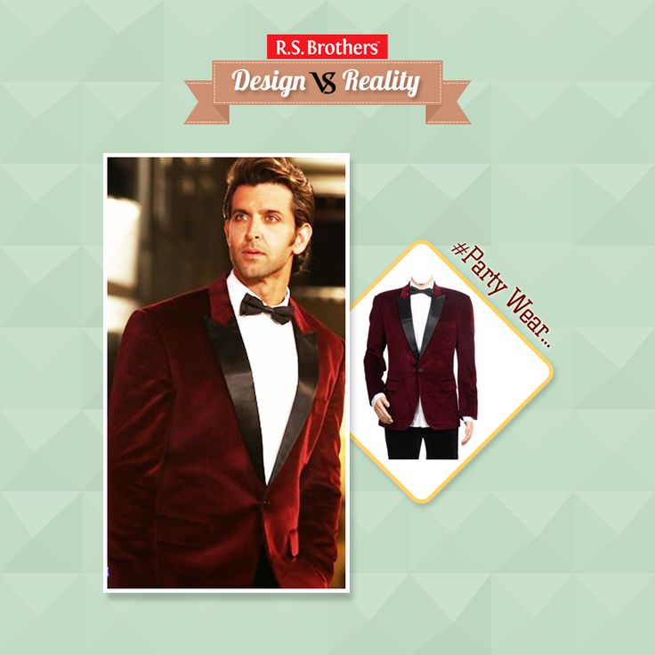 #Design vs #Reality #Handsome & #Stylish Bollywood Hero #HritikRoshan looks #Classy and Awesome in this Beautiful 'Meroon Color Suit'. How much would you rate for his Style out of 5? Menswear in Top Brands with great Discounts @R.S. Brothers. (Image copyrights belong to their respective owners)