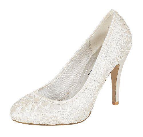 Ladies L2979 White Lace Court Shoe Anne Michelle, http://www.amazon.co.uk/dp/B0089MFNXA/ref=cm_sw_r_pi_dp_c1w5sb06DA8M8