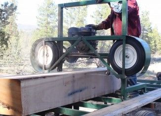 How to build a Homemade Portable Sawmill from Start to Finish