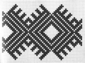 Counted cross stitch pattern - Romanian embroidery -6