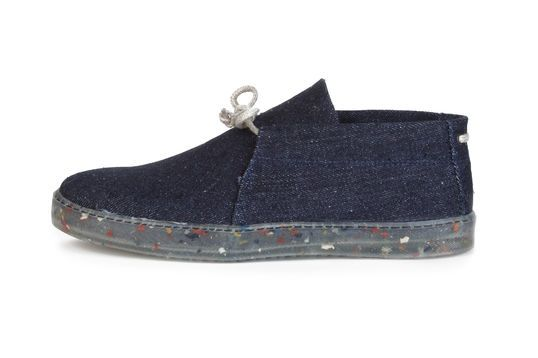 Shoes by Saint Vacant & Pure Waste Textiles
