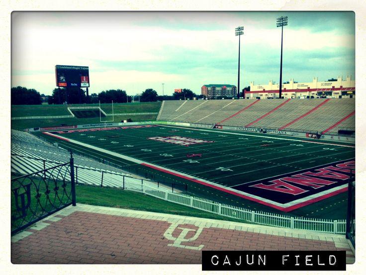 Cajun field home of the louisiana ragin cajuns