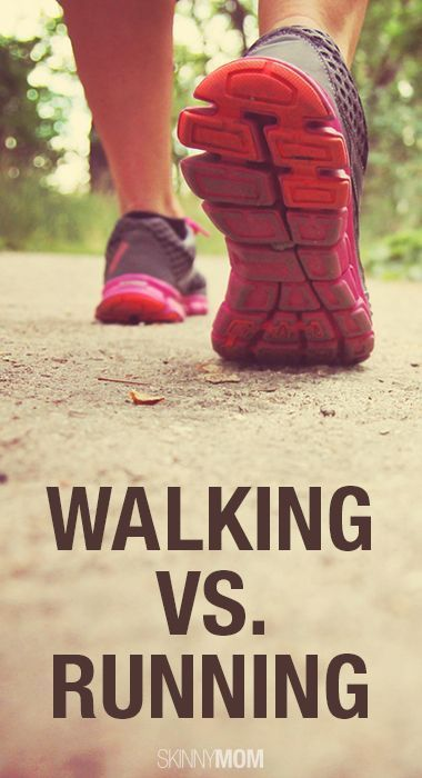 Walking vs. Running