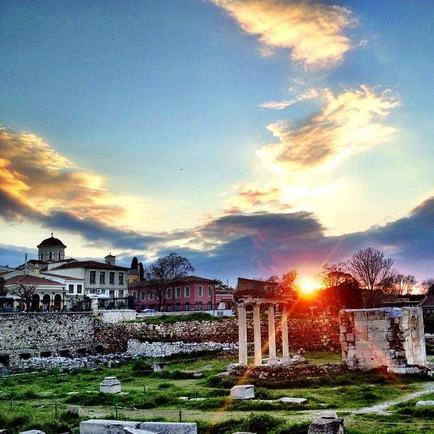 Ρωμαϊκή Αγορά (Roman Agora)