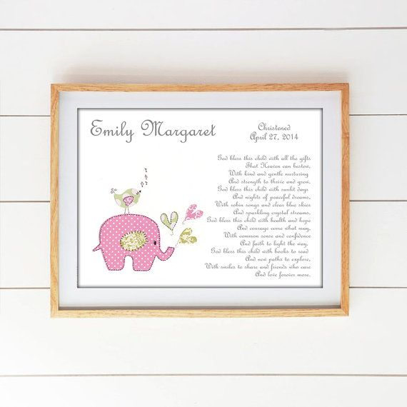 FOR MORE BAPTISM/CHRISTENING PRINTS please see my shop section here https://www.etsy.com/shop/SnoodleBugs?section_id=13023945    TO PERSONALIZE YOUR