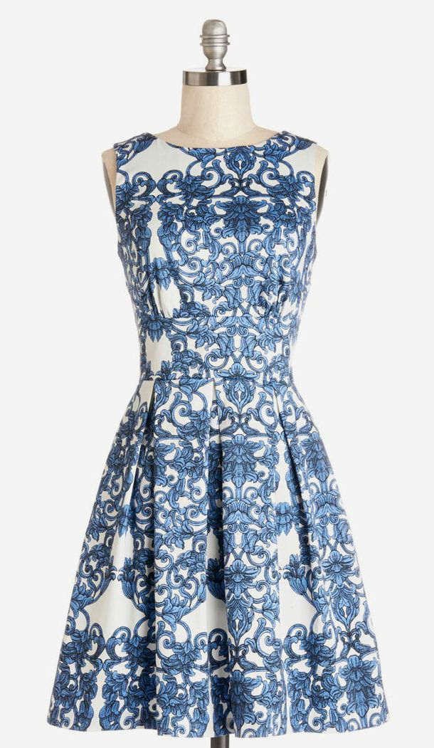 Dress in Paisley