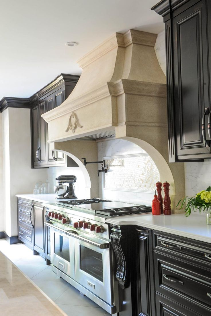 20 best hoods images on pinterest kitchen range hoods cooker family friendly old world kitchen dailygadgetfo Image collections