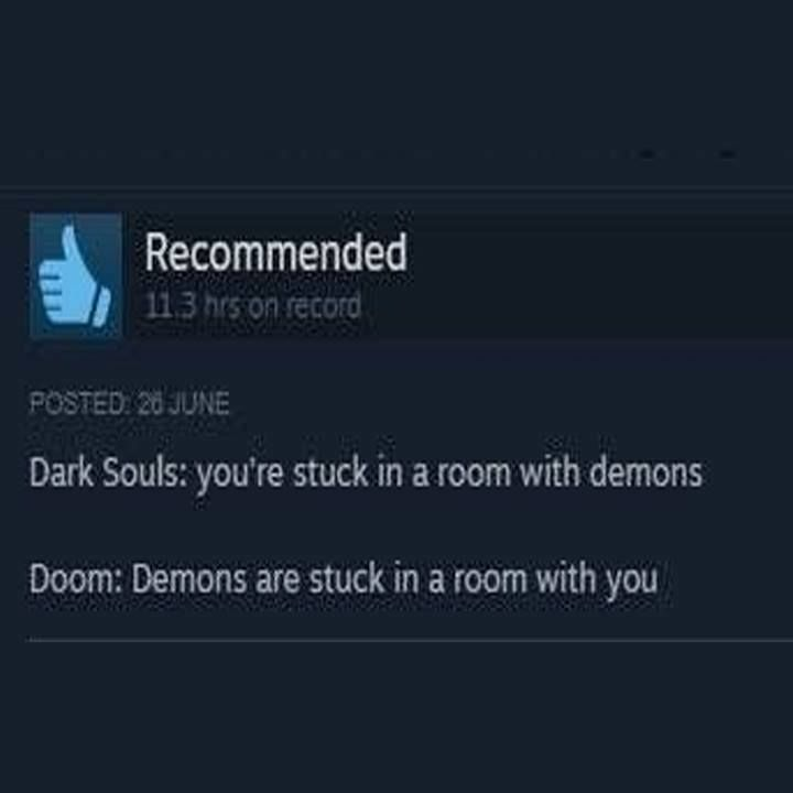 Ha, I'd rather play DOOM