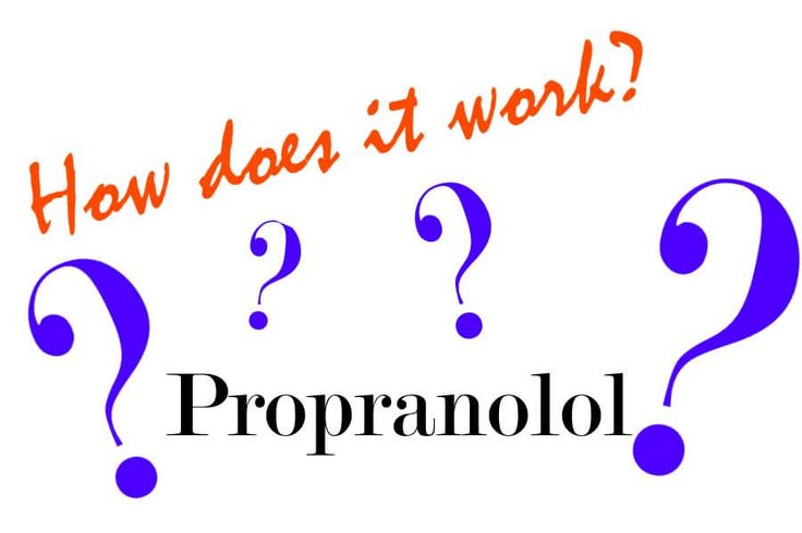 Propranolol is a type of drug called a beta blocker that can help to lower your blood pressure by blocking certain receptors in your heart. It works by reducing the rate and force of your heartbeat...