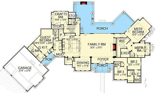 Best 25 hill country homes ideas on pinterest for Texas hill country floor plans