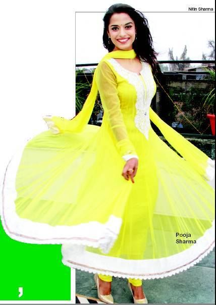 Pooja Sharma in Salwar