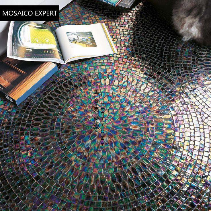 Cheap  Mosaico di vetro terra pavimento di piastrelle decorazione a mosaico mosaico di puzzle di arte  , Compro Qualità Mosaici direttamente da fornitori della Cina:    Mosaico di vetro terra pavimento di piastrelle decorazione a mosaico mosaico di puzzle di arte          Scaldi le pun