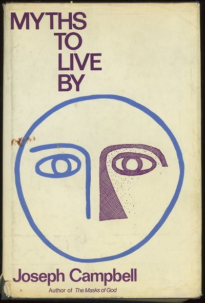 myths to live by (1972, cover design by stuart rosenberg)