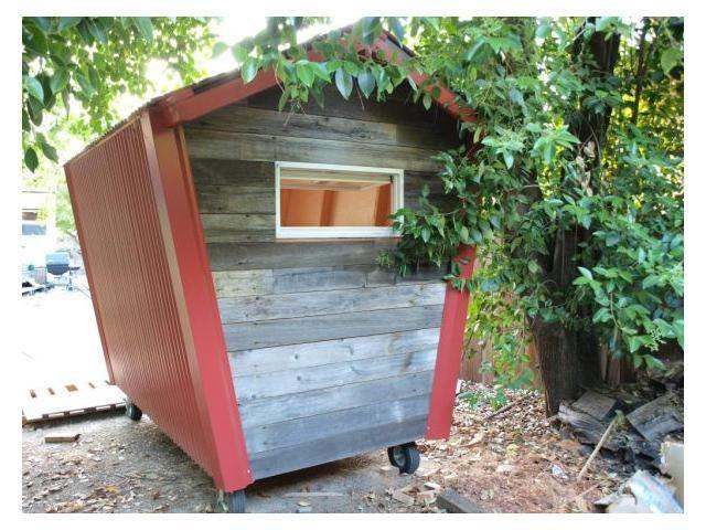 Tiny Backyard Office : Teeny tiny backyard office  Garden ShedOffice  Pinterest