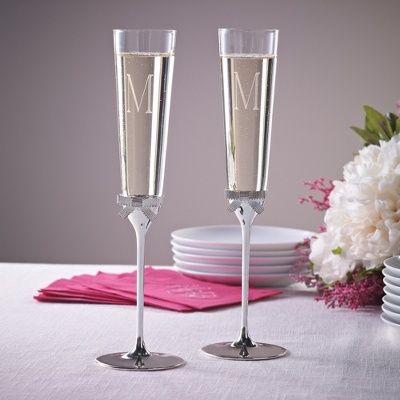 be7fbef5856 Exclusively Weddings | Grace Avenue Toasting Flutes | Wedding | Wedding  flutes, Toasting flutes, Wedding