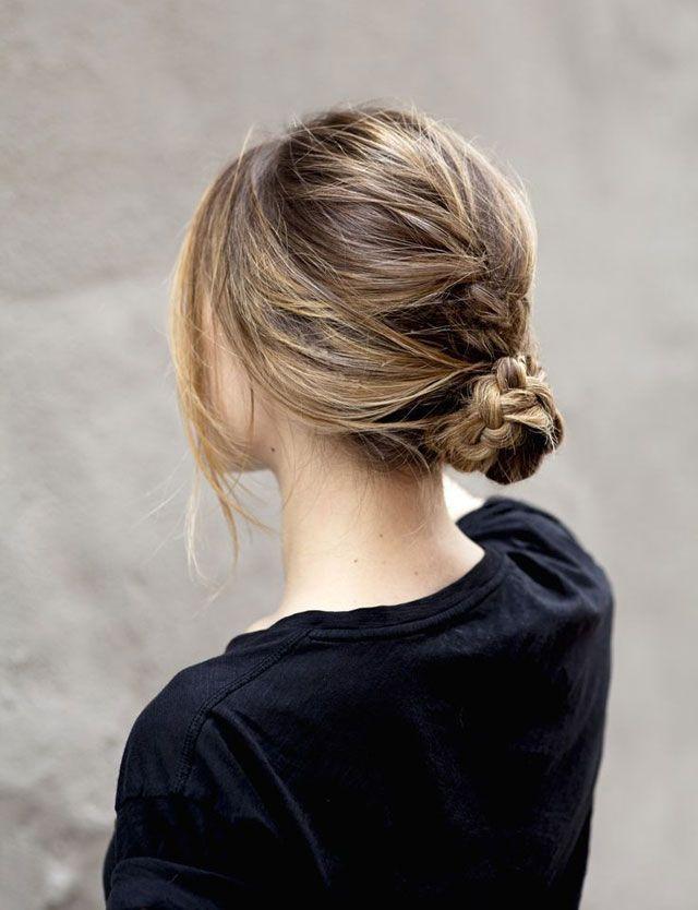 Plus de shampooing ? Voici 15 coiffures pour cheveux sales   Glamour